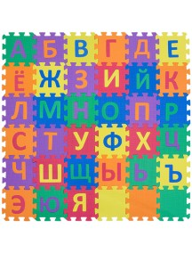 "Коврик-пазл 6"" с русским алфавитом - NT Funkids ""Алфавит-3"""