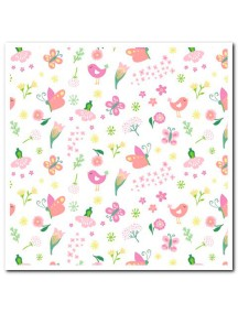 """Конверт для пеленания Summer Infant """"SwaddleMe"""", L, 56676 / Бабочки/цветочки"""