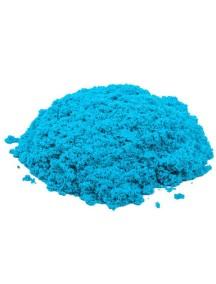 Пластичный (кинетический) песок - Песочница+формочки 1 кг., КП01Г10Н / Голубой