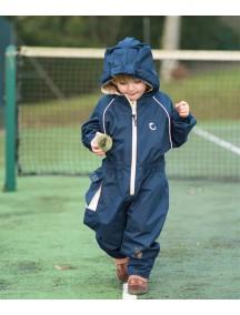 Детский универсальный непромокаемый мембранный комбинезон Хиппичик (весна-лето-осень) Полуночно-синий без подкладки