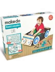 """Конструктор MAKEDO """"Подумай и сделай автомобиль"""", 57 деталей"""