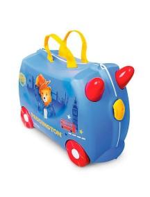 """Trunki  """"Медвежонок Паддингтон"""" Детская каталка-чемодан  Транки"""