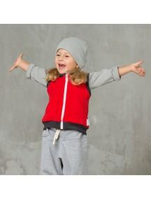 Жилет флисовый детский, Красный (БАМБИНИЗОН / Bambinizon)