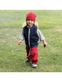 Жилет флисовый детский, НЭВИ (БАМБИНИЗОН / Bambinizon)