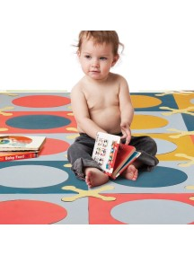 Игровой коврик-пазл SKIP HOP Playspot Разноцветный