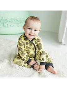 Пижама на кнопках детская, Апельсины (БАМБИНИЗОН / Bambinizon)