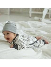 Пижама на кнопках детская, Гранж (БАМБИНИЗОН / Bambinizon)