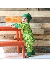 Пижама на кнопках детская, Деревья (БАМБИНИЗОН / Bambinizon)
