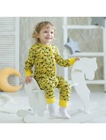 Пижама на кнопках детская, Джунгли (БАМБИНИЗОН / Bambinizon)