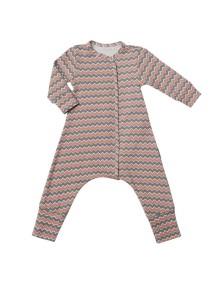 Пижама на кнопках детская, Зигзаг (БАМБИНИЗОН / Bambinizon)