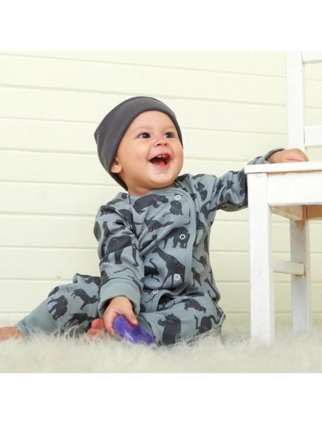Пижама на кнопках детская, Сафари (БАМБИНИЗОН / Bambinizon)