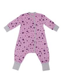 Пижама на кнопках детская, Сиреневое небо (БАМБИНИЗОН / Bambinizon)