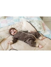 Пижама на кнопках детская, Шоколад (БАМБИНИЗОН / Bambinizon)