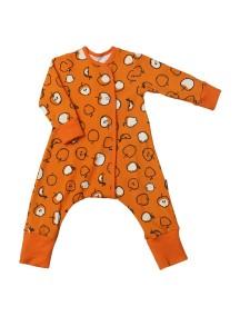 Пижама на кнопках детская, Яблоки (БАМБИНИЗОН / Bambinizon)