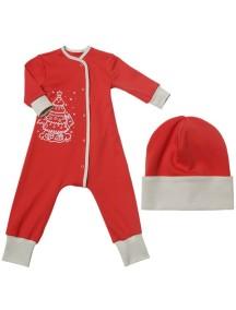 Пижама+шапка детские, Праздничный наряд (БАМБИНИЗОН / Bambinizon)