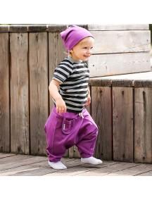 Штанишки детские, Фиолетовый (БАМБИНИЗОН / Bambinizon)
