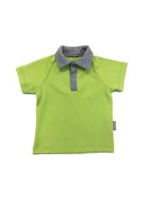Футболка-поло детская, Зеленое яблоко (БАМБИНИЗОН / Bambinizon)