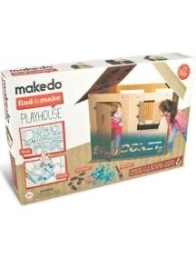 Конструктор MAKEDO FM01-005 Подумай и сделай домик, 77 деталей
