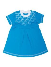 Платье детское, Бирюзовое (БАМБИНИЗОН / Bambinizon)