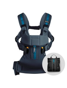 "Рюкзак-Кенгуру BabyBjorn ""One Outdoors"" , Темно-синий"