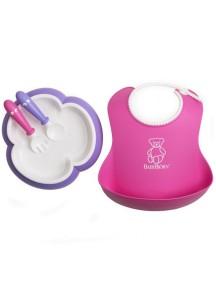 Набор для кормления BabyBjorn , розовый-лиловый