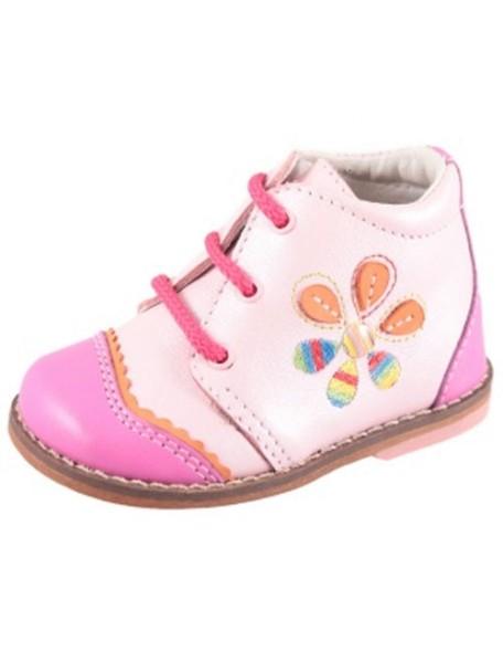 Детские ботиночки Котофей р.24, розовый-фуксия