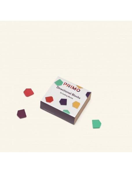 Набор блоков направления, 16 шт (3+) Primo Toys