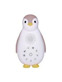 Беспроводная колонка+проигрыватель+ночник пингвинёнок Зои розовый (ZAZU ZOE)