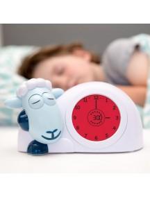 Часы-будильник для тренировки сна Ягнёнок Сэм Зазу, синий (SAM ZAZU)