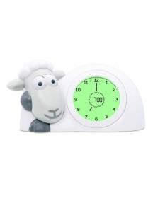 Часы-будильник для тренировки сна Ягнёнок Сэм Зазу, серый (SAM ZAZU)