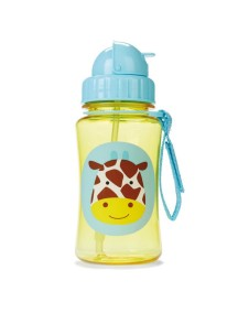 Детский поильник Skip Hop Zoo Straw Bottle - Giraffe (Жираф)