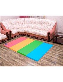 Складной детский коврик-мат AlzipMat Color Folder SG (2400х1400х40), Original Smart