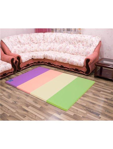 Складной детский коврик-мат AlzipMat Color Folder G (2000х1400х40), Original Sugar