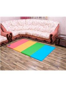 Складной детский коврик-мат AlzipMat Color Folder S (2000х1200х40), Original Smart