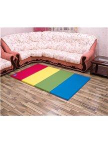 Складной детский коврик-мат AlzipMat Color Folder S (2000х1200х40), Original Vivid