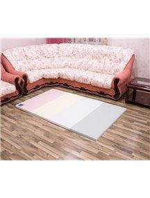 Складной детский коврик-мат AlzipMat Color Folder S (2000х1200х40), ECO Modern Pink