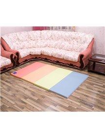 Складной детский коврик-мат AlzipMat Color Folder S (2000х1200х40), Original Classic