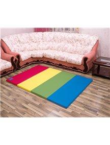 Складной детский коврик-мат AlzipMat Color Folder G (2000х1400х40), Original Vivid