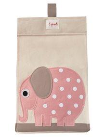 Органайзер для подгузников 3 Sprouts «Розовый слоник»