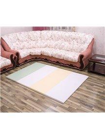 Складной детский коврик-мат AlzipMat Silion Mat G (2000х1400х40), Eco Duo Olive Green