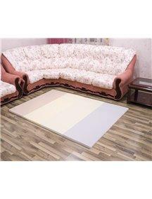 Складной детский коврик-мат AlzipMat Silion Mat G (2000х1400х40), Eco Modern Pink