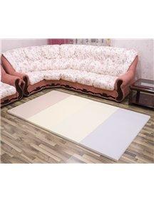 Складной детский коврик-мат AlzipMat Silion Mat SG (2400х1400х40), Eco Modern Pink