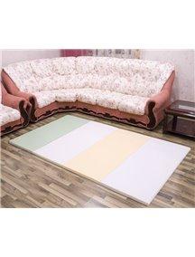 Складной детский коврик-мат AlzipMat Silion Mat SG (2400х1400х40), Eco Duo Olive Green