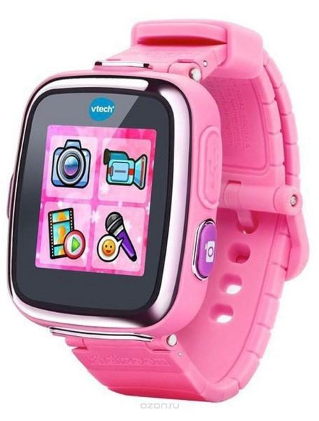 Детские наручные часы Kidizoom SmartWatch DX розового цвета Vtech