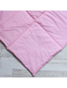 Стеганый плед для вигвама Светло розовый, Simple Pink