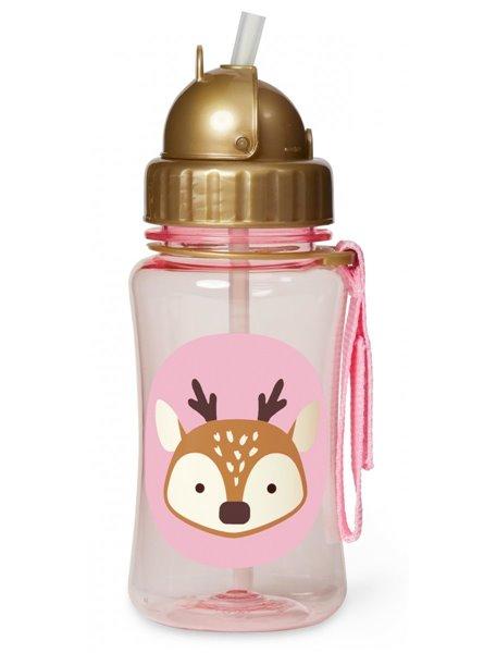 """Детский поильник Skip Hop Zoo Straw Bottle -  """"Олень"""""""