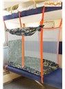 ЖД-манеж в поезд для детей Manuni от 3 лет камуфляж (3 стенки +шторка)