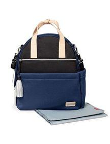 Рюкзак для мамы на коляску с аксессуарами NOLITA Neoprene Diaper Backpack Skip Hop, Синяя