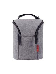 Термо-сумка для бутылочек SKIP HOP Double Bottle Bag (Серый)