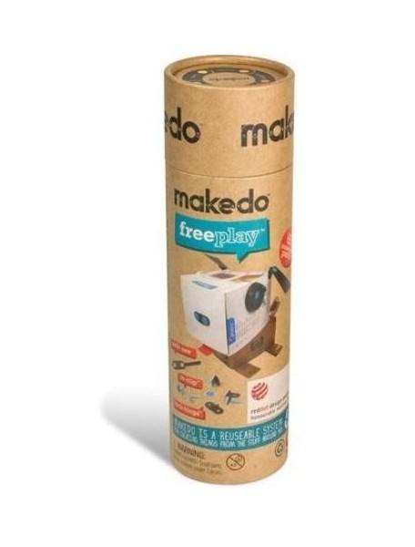 Конструктор MAKEDO KT01-002 Комплект для одного, 65 деталей